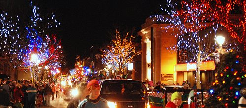 10th Anniversary of the BIA Evening Santa Claus Parade