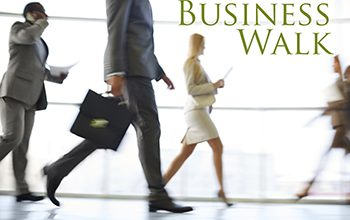 Business Walk event in downtown Carleton Place