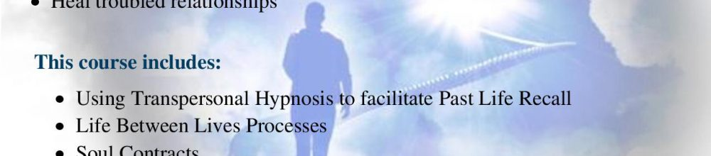 Past Life Regression Practitioner Certification