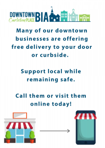 During this time, we need to support our local business owners. Many offering shopping online and phone orders!