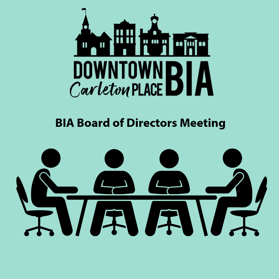 Next regular BIA Board Meeting February 10th at 6:30