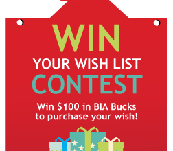 Win your Wish List Contest in Downtown Carleton Place